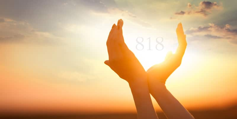 Angel Number 818 Significance